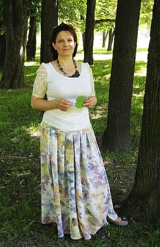 Юбка Из Шелка